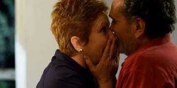 """Mayra y Esteban, dos personajes en una sola locación. Filme """"Ya no es antes"""". Foto: Cortesía de Lester Hamlet."""
