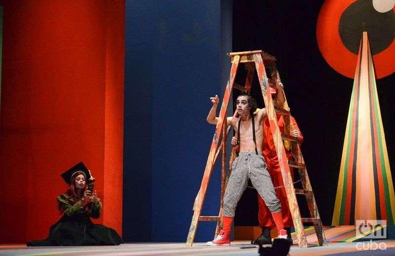 """""""Harry Potter: se acabó la magia"""" es la más reciente producción del grupo de teatro """"El Público"""", dirigido por Carlos Díaz, en el Teatro Trianón. Foto: Yander Zamora."""