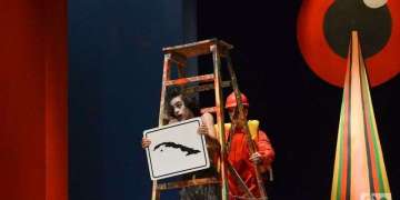 """Harry Potter: se acabó la magia"""", es la más reciente producción del grupo de teatro """"El Público"""", dirigido por Carlos Díaz, en el Teatro Trianón."""