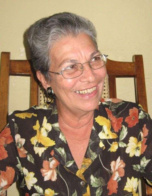 Sonnia Labrada en el año 2011. Foto: Edgar Batista.