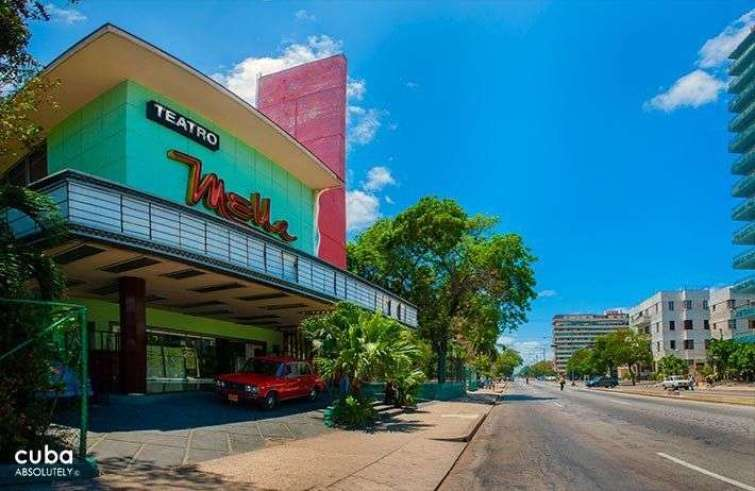 Teatro Mella. Foto tomada de LaHabana.com.