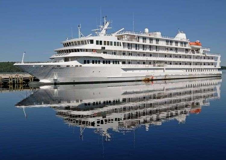 El crucero Pearl Mist.