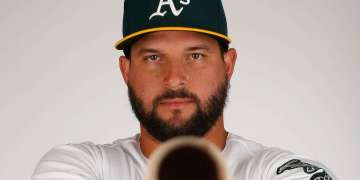 Yonder Alonso. Foto: Christian Petersen / Getty Images.