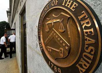 Departamento del Tesoro.