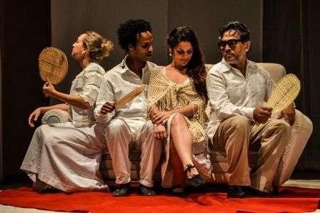 """Parece blanca"". Teatro D´Dos."
