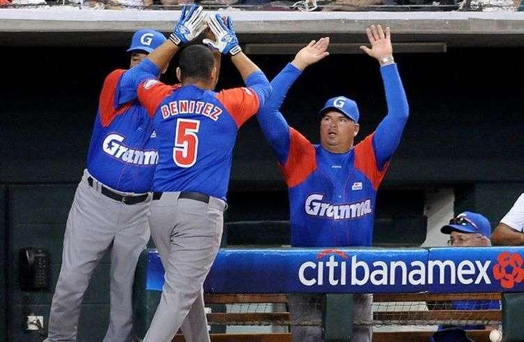 El granmense Carlos Benítez se ganó el puesto en el equipo cubano para el Clásico con su actuación en la Serie del Caribe. Foto: Ricardo López Hevia.