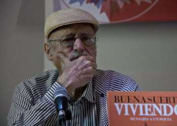 Roberto Fernández Retamar. Foto: La Ventana.