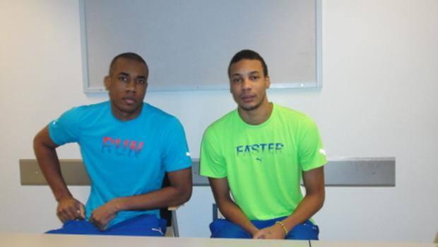 Luis Tomás Sosa (izquierda) y Osmany Uriarte en la cárcel de Finlandia. Foto: La Gazzetta dello Sport.