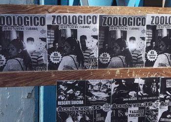 """Aunque no se ha transmitido por la televisión, la serie """"Zoológico"""" ha tenido una amplia distribución en toda Cuba. Foto: Facebook."""