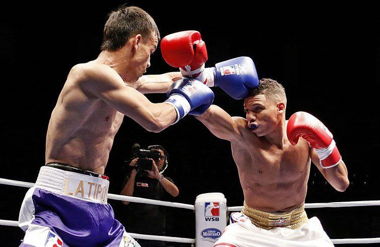 Tras su buena actuación en la Serie Mundial Yosvany Veitía (derecha) pudiera repetir en Hamburgo su presencia en un podio del orbe. Foto: worldseriesboxing.com.