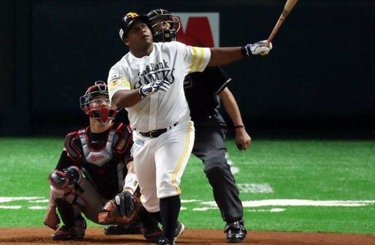 Por su rendimiento, Alfredo Despaigne fue incluido en la Serie de Estrellas de Japón. Foto: zonadestrike.wordpress.com.