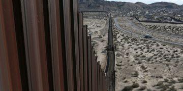 La frontera entre EE UU y México en el Estado de Nuevo México. Foto: Christian Torres / AP.