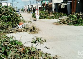 Huracán Irma en Ciego de Ávila. Foto: Guillermo Rodríguez Sánchez.