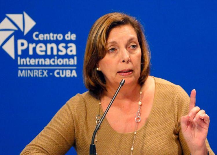 Josefina Vidal. Foto: AP.
