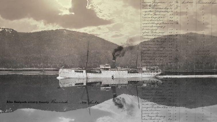 El Burnside fue uno de los cinco buques que trasladó a los maestros cubanos a Estados Unidos en 1900.