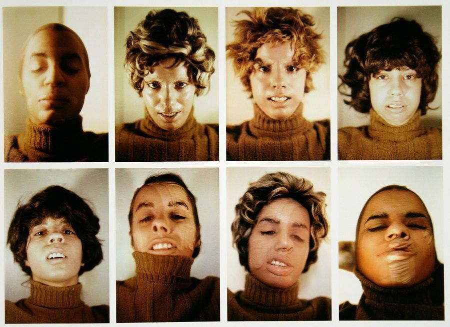 Sin título (Variaciones cosméticas faciales), 1972 © The Estate of Ana Mendieta Collection, LLC Courtesy Galerie Lelong & Co.