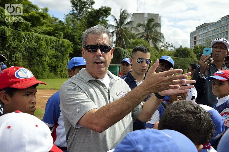 The MLBPAA organized the exchange together with the Cuban Baseball Federation. Photo: Otmaro Rodríguez.
