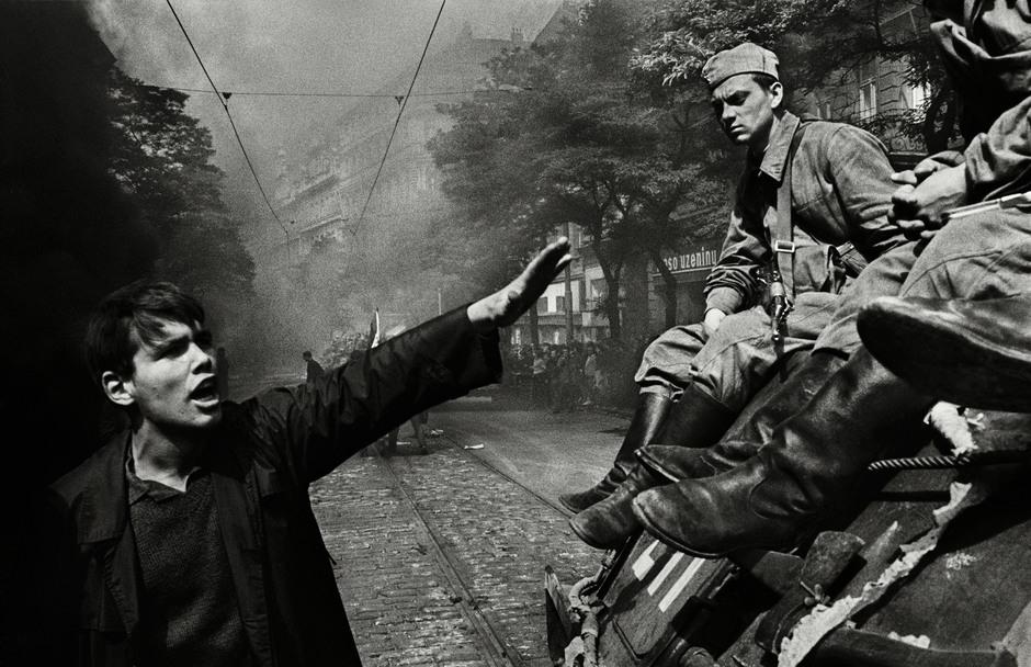 Prague. August of 1968. Photo: Josef Koudelka