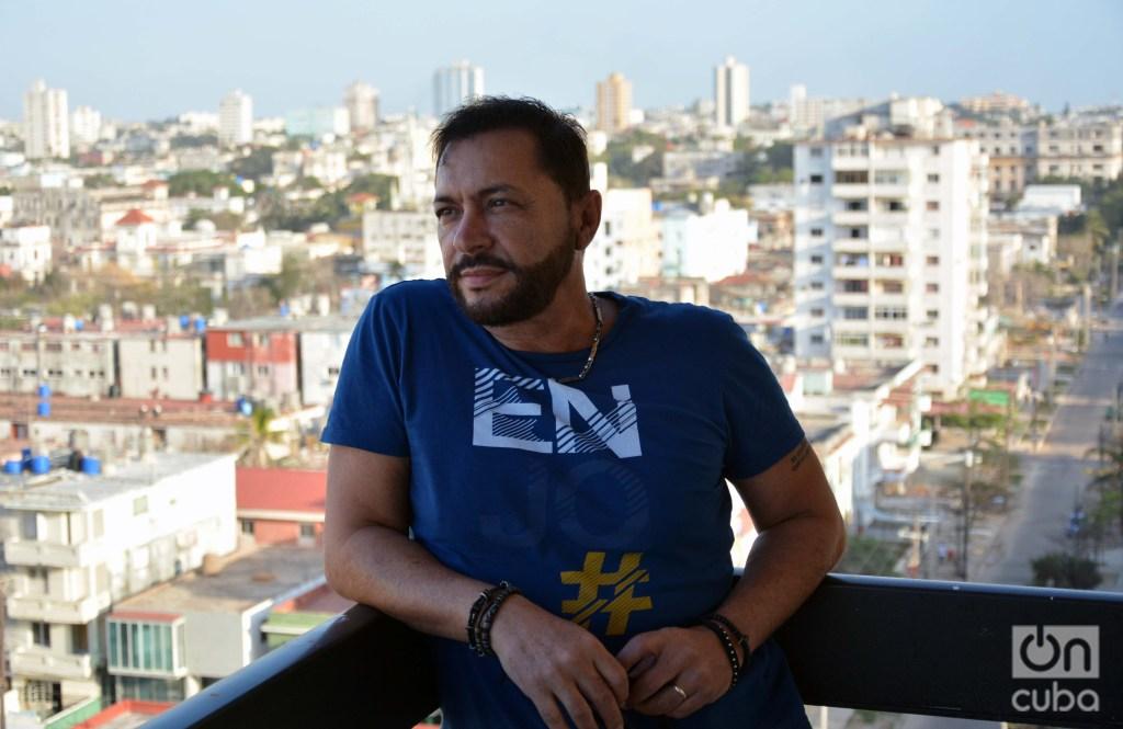 Jorge Martínez nació en La Habana en 1962. Foto: Regino Sosa.