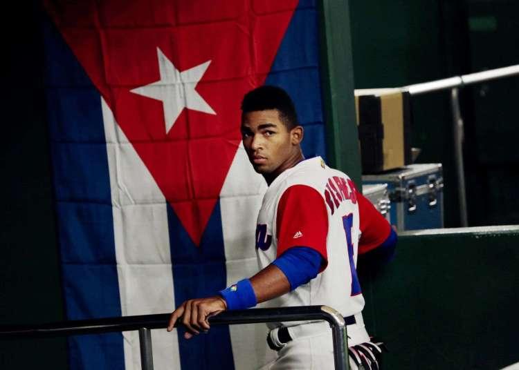 Entre las bajas más notables del Sub-23 está Yoelkys Céspedes en Granma, quien juega la Serie Especial de Preparación rumbo a Barranquilla. Foto: Ko Sasaki / The New York Times.