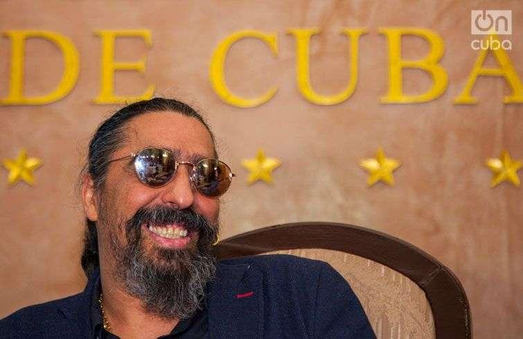Diego El Cigala presentó en La Habana el documental Indestructible. El alma de la salsa. Foto: Claudio Pelaez Sordo.