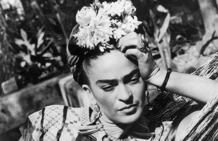 Frida Kahlo en 1950. Foto: Hulton Archive / Getty Images.