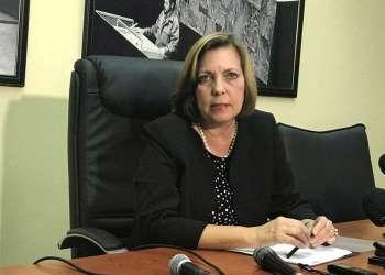 Josefina Vidal en la Cancillería cubana meses atrás. Foto: @CubaMINREX.