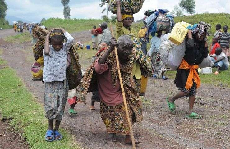El cambio climático podría provocar para 2050 el desplazamiento de 140 millones de personas dentro de sus países, según Banco Mundial. Foto: cambioclimaticoypobreza.org.