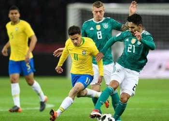 Por la calidad de sus nóminas, Brasil y Alemania son dos de los principales favoritos para ganar el Mundial de Rusia 2018. Foto: AFP.