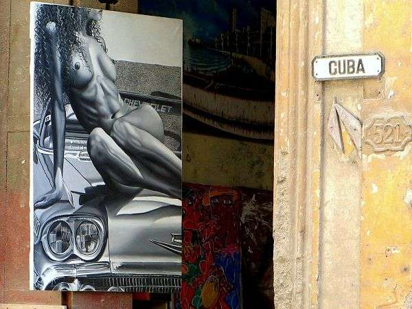 Calle Cuba, La Habana Vieja. Foto: Ángel Marqués Dolz.