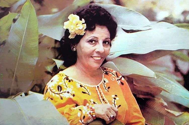 "Celina González. ""Yo soy el punto cubano..."""