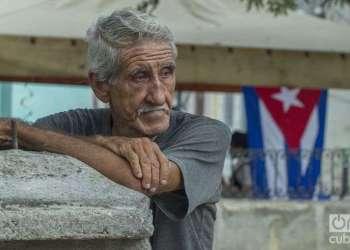 Anciano cubano. Foto: Yaniel Tolentino / Archivo.