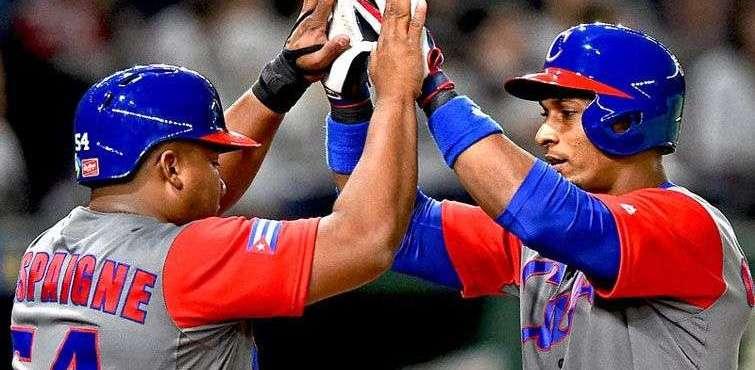 Cuba en el Clásico Mundial de Béisbol. Foto: @WBCBaseball/Twitter.