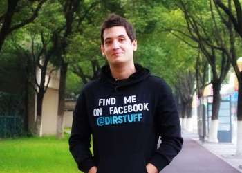 Juan Pablo Fung, un joven emprendedor cubano que desde China intenta abrirse caminos. Foto: dirstuff.com