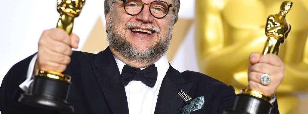 """Guillermo del Toro, ganador de los premios Oscar al mejor director y la mejor película por """"The Shape of Water"""". Foto: Jordan Strauss/Invision/AP."""