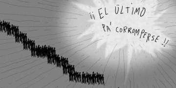 Dibujo: Lázaro Saavedra.