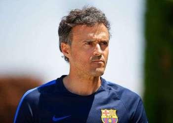 Luis Enrique, quien dirigió con éxito al Barcelona, ha sido nombrado por la federación española como nuevo técnico de la selección nacional de España. Fot: Manu Fernández / AP / Archivo.