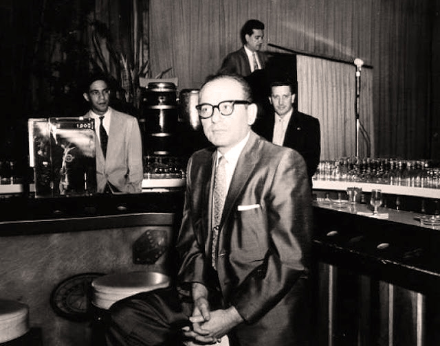 Santo Trafficante in San Souci's bar