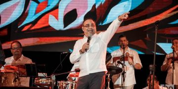 Gilberto Santa Rosa en el Festival Josone.