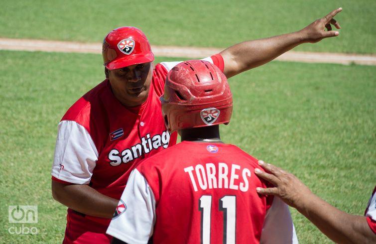 Santiago Torres ha sido una pieza importante en los triunfos de Santiago. Foto: Otmaro Rodríguez.