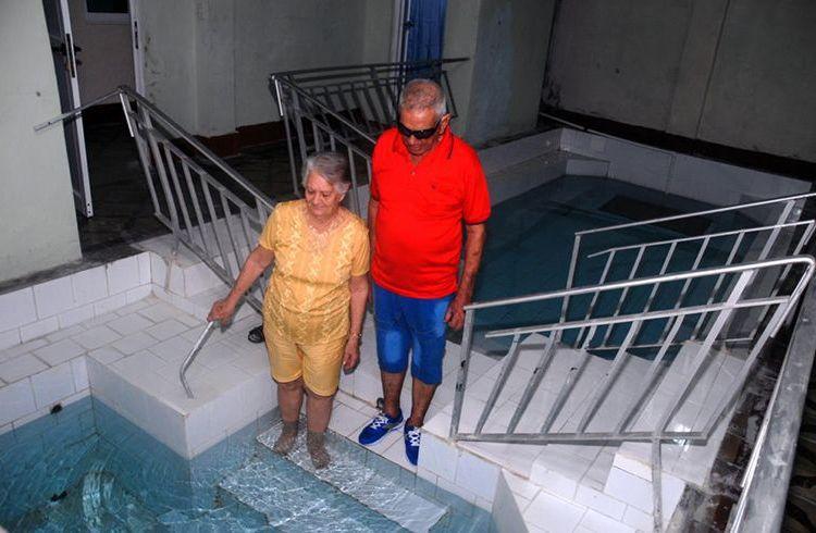 Balneario de Ciego Montero, en Cienfuegos, tras su reapertura en 2015. Foto: Modesto Gutiérrez / AIN.