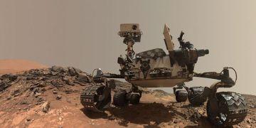 El rover Curiosity en la superficie de Marte. Foto: Observatorio.info