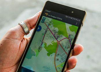 """""""La Guagua"""", aplicación móvil para seguir a los ómnibus urbanos """"en vivo"""" es sometida a prueba en Las Tunas. Foto: periodico26.cu"""