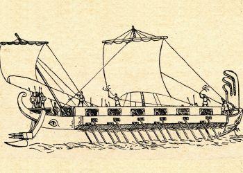 Los fenicios fueron los grandes comerciantes de la antigüedad.