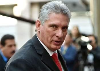 El presidente cubano Miguel Díaz-Canel. Foto: merca20.com