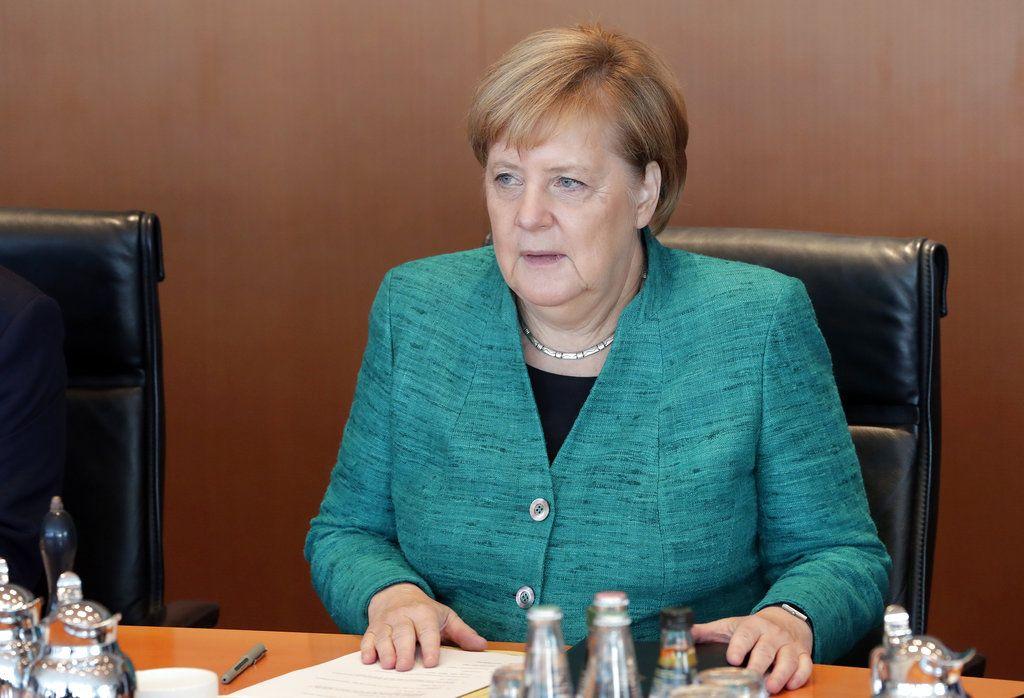 La canciller alemana Angela Merkel. Foto: AP / Archivo.