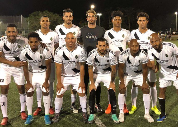 En el Fortuna SC confluyen varios cubanos con deseos de defender la camiseta de su país. Foto: Tomada del Blog del Fútbol Cubano