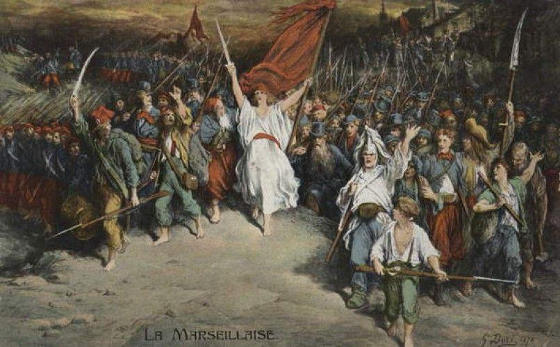 Gustave Dore - La Marseillaise