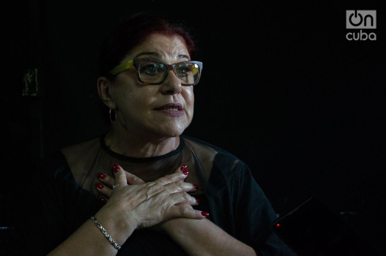"Susana Pérez a OnCuba: ""Yo nunca dije que no pensaba volver"". Foto: Otmaro Rodríguez."