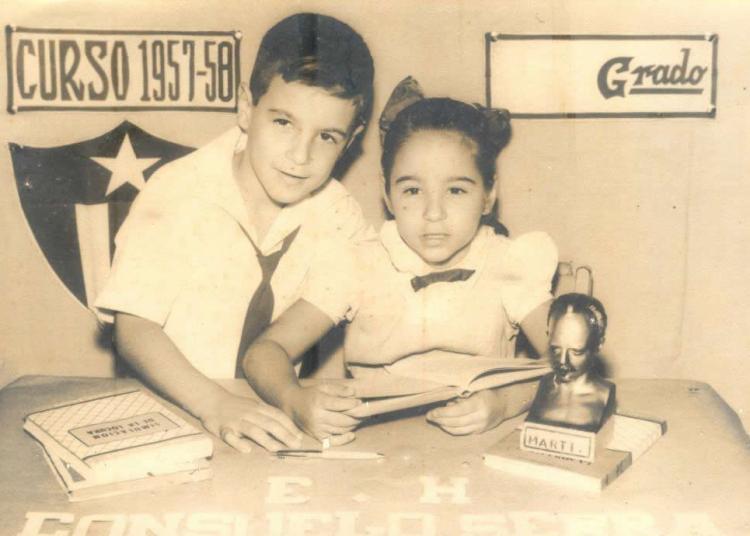 Josefina y Lichi Diego. Foto: Cortesía de la autora.